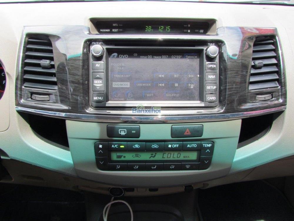 Bán Toyota Fortuner 2.7V-4x2 đời 2014, màu đen-13