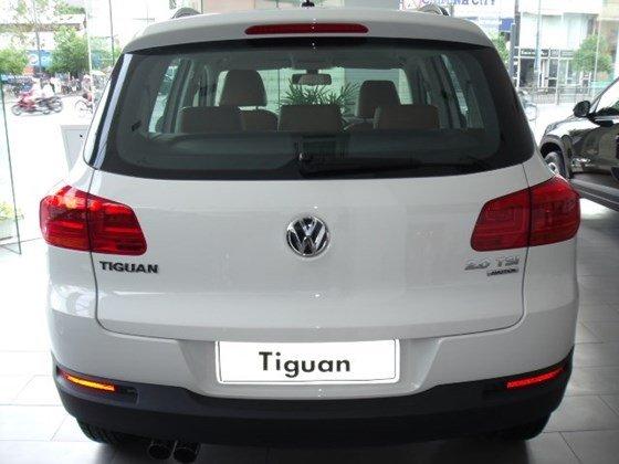 Xe Volkswagen Tiguan 2015, màu trắng, nhập khẩu nguyên chiếc-2
