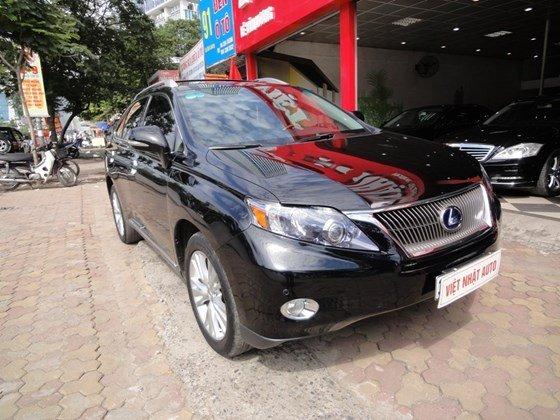 Việt Nhật Auto cần bán xe Lexus RX450H đời 2011, màu đen, xe tư nhân chính chủ-2