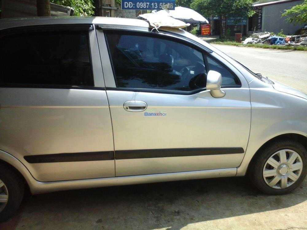 Bán ô tô Chevrolet Spark, màu bạc, trong nước-4
