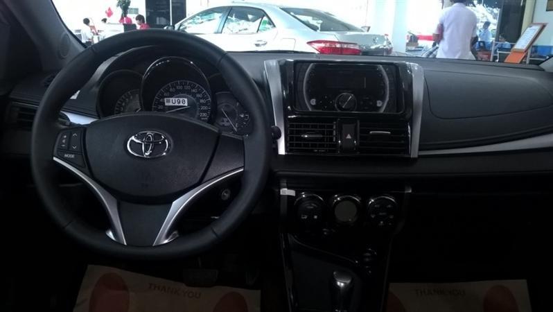 Bán Toyota Vios G - mới trong nước đời 2015 xe đẹp long lanh-7