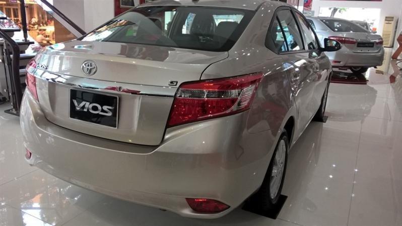 Bán Toyota Vios G - mới trong nước đời 2015 xe đẹp long lanh-3