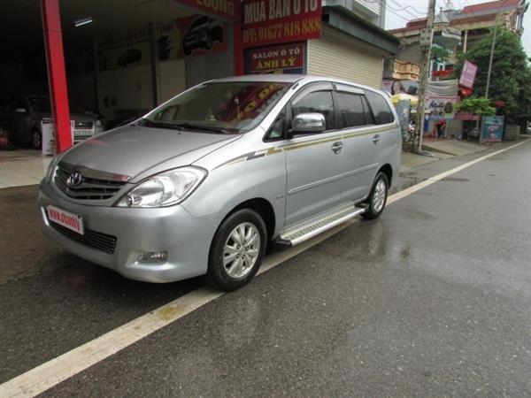 Xe Toyota Innova V sản xuất năm 2008, số tự động, xe biển Hà Nội, hồ sơ rút nhanh gọn giá 555 tr-1