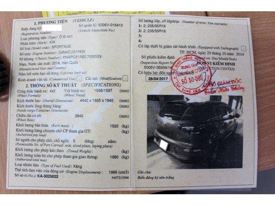 Bán ô tô Kia Sportage đời 2014, màu nâu, nhập khẩu, số tự động, giá 865tr nhanh tay liên hệ-25