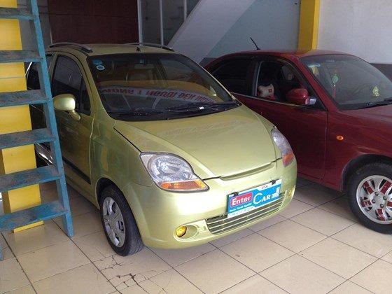 Enter Car đang có Sparkt 2010 màu vàng chanh, xe đẹp, nội thất đẹp-3