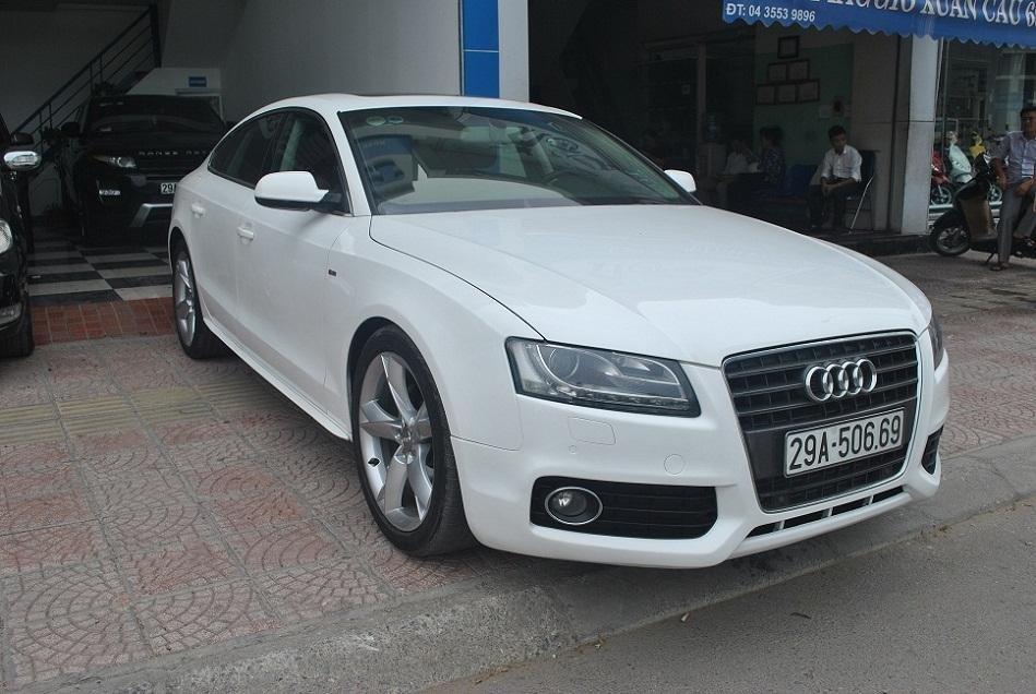 Bán gấp xe Audi A5 đời 2011, màu trắng, nhập khẩu chính hãng, chính chủ-5
