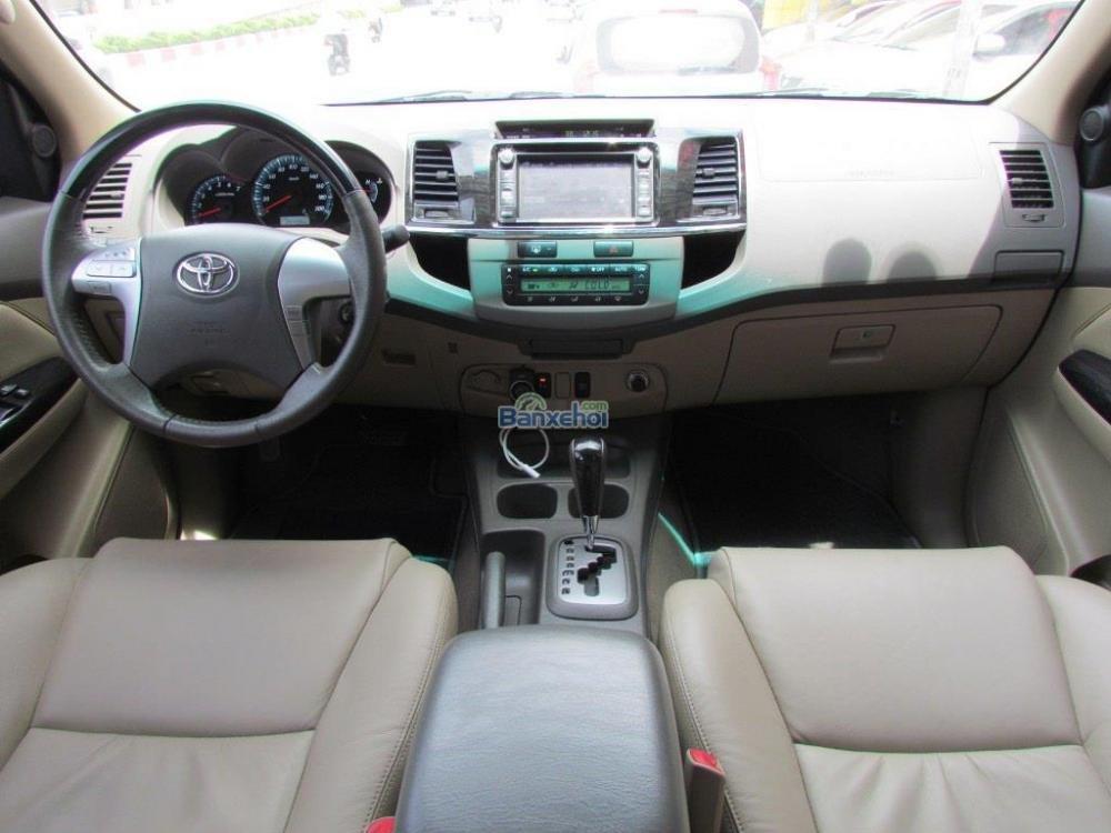 Bán Toyota Fortuner 2.7V-4x2 đời 2014, màu đen-12