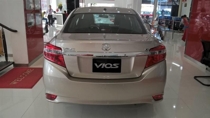 Bán Toyota Vios G - mới trong nước đời 2015 xe đẹp long lanh-2