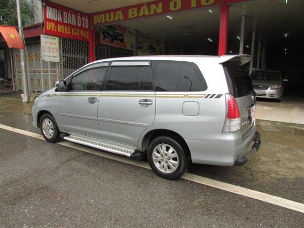 Xe Toyota Innova V sản xuất năm 2008, số tự động, xe biển Hà Nội, hồ sơ rút nhanh gọn giá 555 tr-3