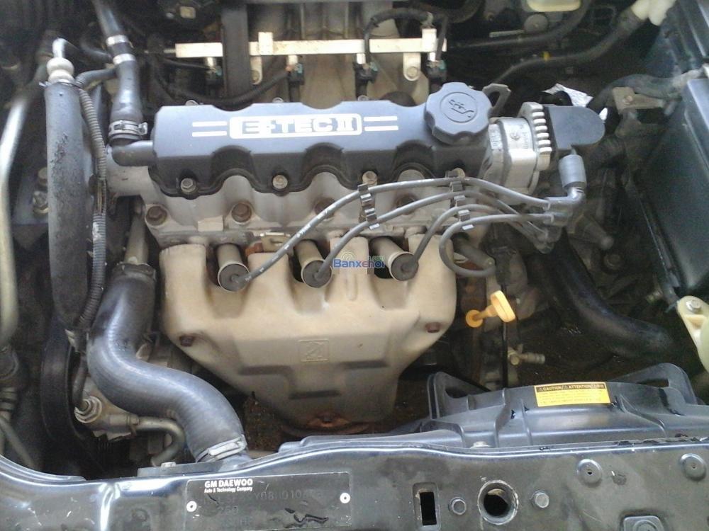 Bán ô tô Daewoo Gentra đời 2008, màu đen, như mới-5
