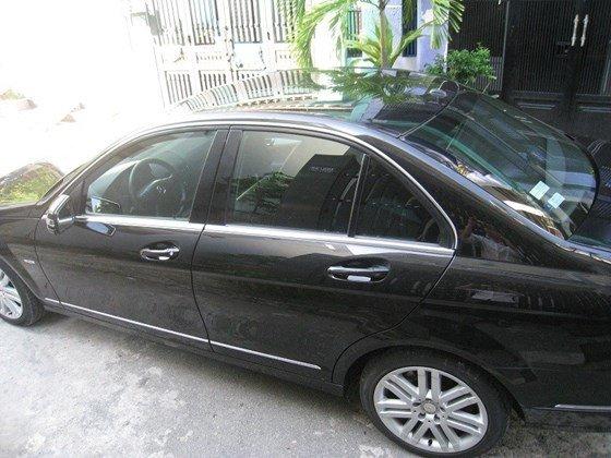 Bán Mercedes Benz C230 2.5L ngoại thất màu đen, nội thất da mới zin toàn bộ, Sx cuối 2009 model 2010 mẫu mới-0