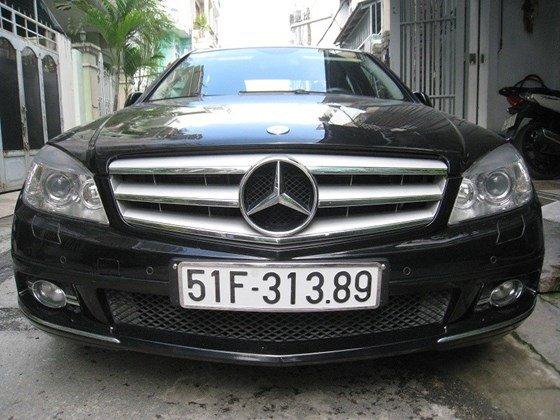 Bán Mercedes Benz C230 2.5L ngoại thất màu đen, nội thất da mới zin toàn bộ, Sx cuối 2009 model 2010 mẫu mới-1