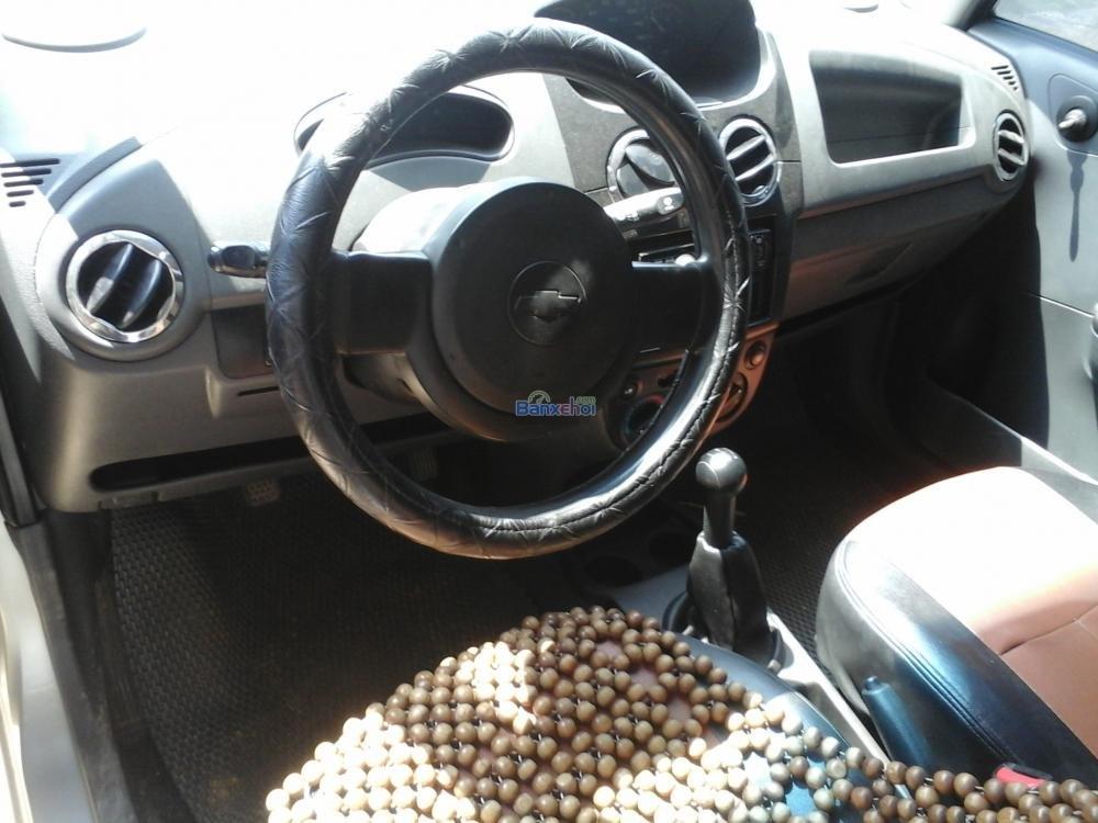 Bán ô tô Chevrolet Spark, màu bạc, trong nước-1