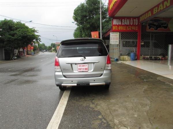 Xe Toyota Innova V sản xuất năm 2008, số tự động, xe biển Hà Nội, hồ sơ rút nhanh gọn giá 555 tr-2