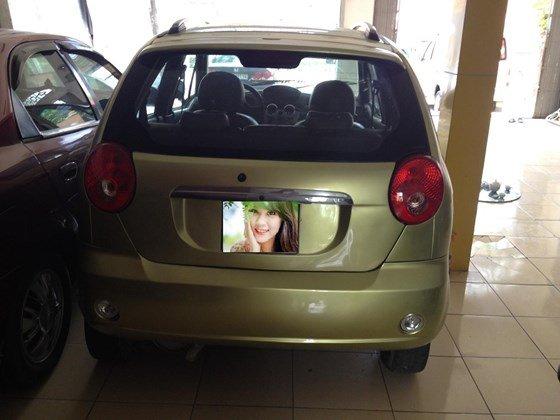 Enter Car đang có Sparkt 2010 màu vàng chanh, xe đẹp, nội thất đẹp-0