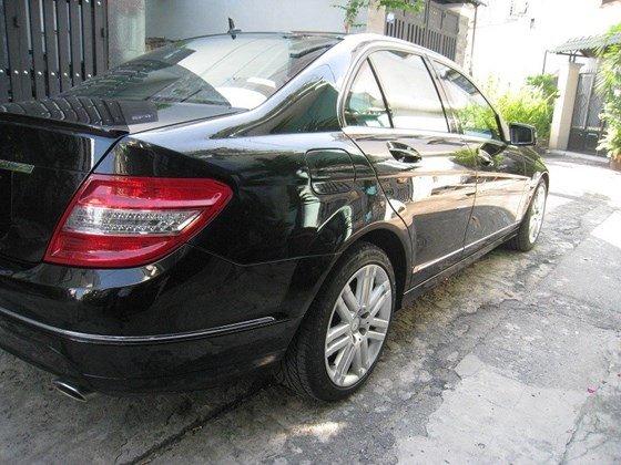 Bán Mercedes Benz C230 2.5L ngoại thất màu đen, nội thất da mới zin toàn bộ, Sx cuối 2009 model 2010 mẫu mới-3