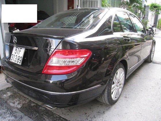 Bán Mercedes Benz C230 2.5L ngoại thất màu đen, nội thất da mới zin toàn bộ, Sx cuối 2009 model 2010 mẫu mới-9