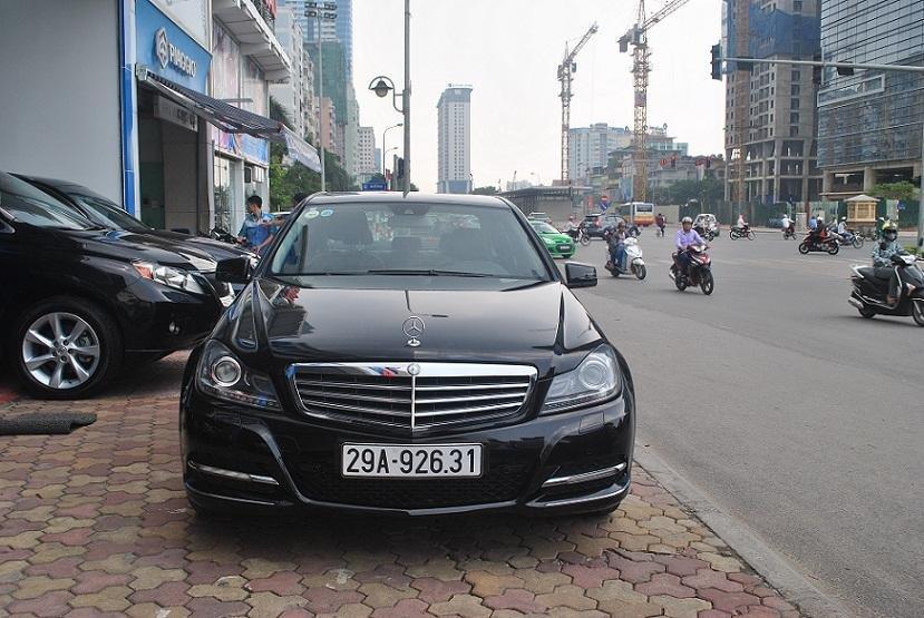 Showroom Hưng Phát bán xe Mercedes C250 2011 màu trắng, nội thất màu ghi, sản xuất năm 2011-1