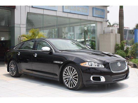 Cần bán Jaguar XJ đời 2013, màu đen, nhập khẩu nguyên chiếc-4