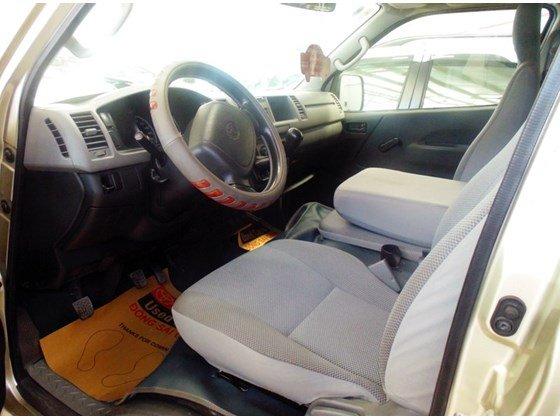 Xe Toyota Hiace năm 2009, màu ghi vàng, số sàn cần bán-1