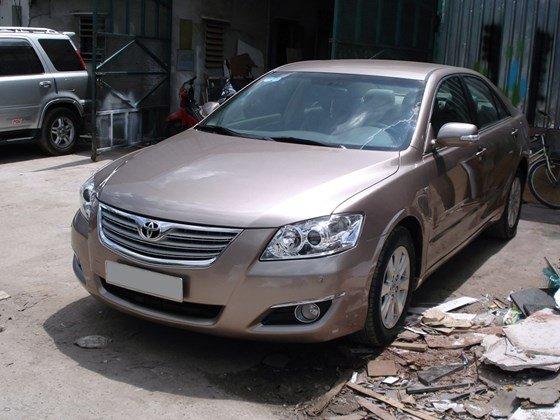 Bán Toyota Camry 2.4 G sản xuất năm 2008 màu đồng-0