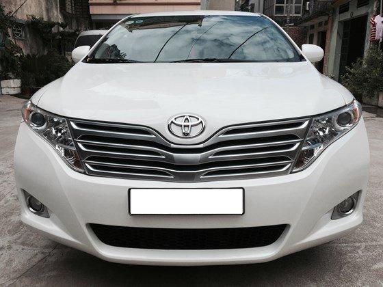 Bán Toyota Venza 2.7 đời 2009, màu trắng, xe nhập, chính chủ-0