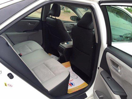 Bán Camry 2.5 XSE 2015 nhập Mỹ (bản đặc biệt) xe màu trắng, nội thất kem, mới 100%-10