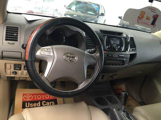 Cần bán gấp xe Toyota Fortuner đời 2012-3