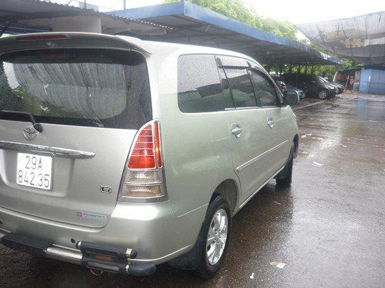 Bán xe ô tô Toyota Innova G màu ghi bạc nguyên bản chính chủ đăng ký tên tư nhân-0