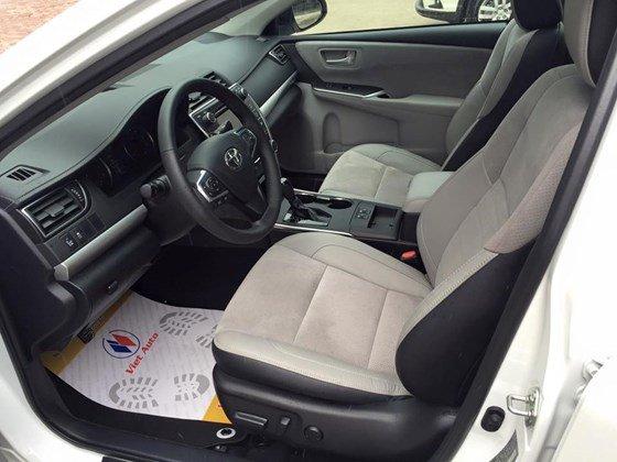 Bán Camry 2.5 XSE 2015 nhập Mỹ (bản đặc biệt) xe màu trắng, nội thất kem, mới 100%-6