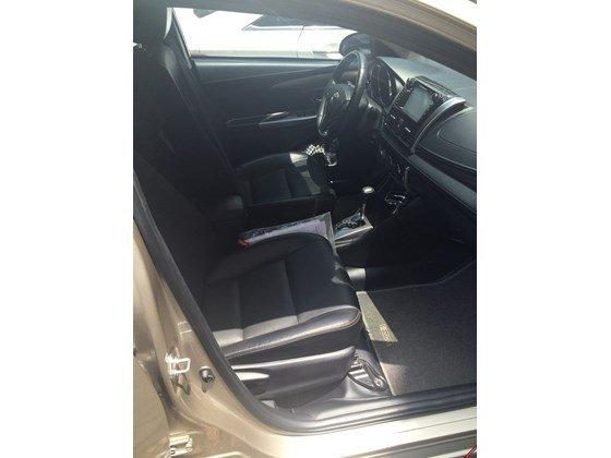 Em bán xe Toyota Vios G 2014 số tự động - mầu vàng cát. Nội thất màu đen-7