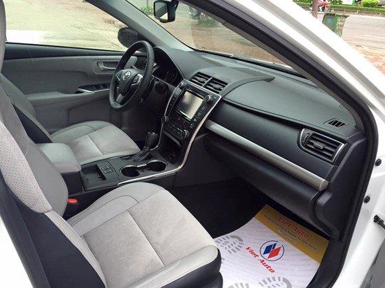 Bán Camry 2.5 XSE 2015 nhập Mỹ (bản đặc biệt) xe màu trắng, nội thất kem, mới 100%-9