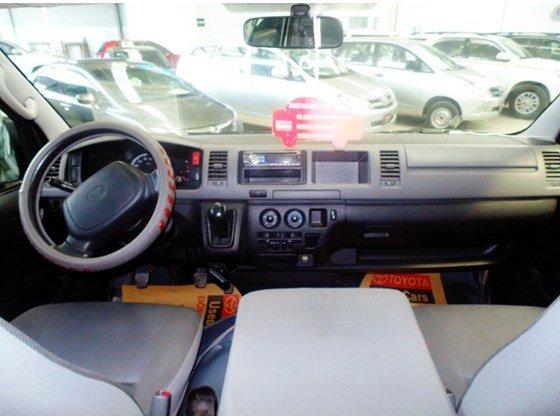 Xe Toyota Hiace năm 2009, màu ghi vàng, số sàn cần bán-4
