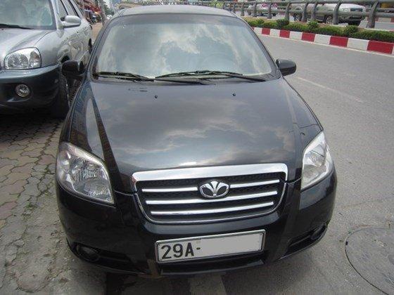 Bán ô tô Daewoo Gentra MT đời 2010, màu đen, xe nhập, còn mới-0