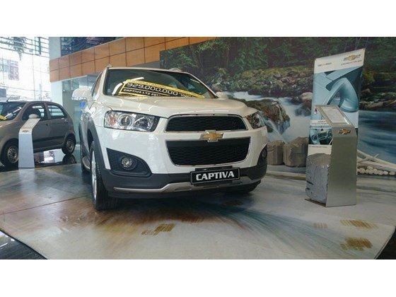 Cần bán xe Chevrolet Captiva LTZ đời 2015, màu trắng, nhập khẩu chính hãng, 949tr-6