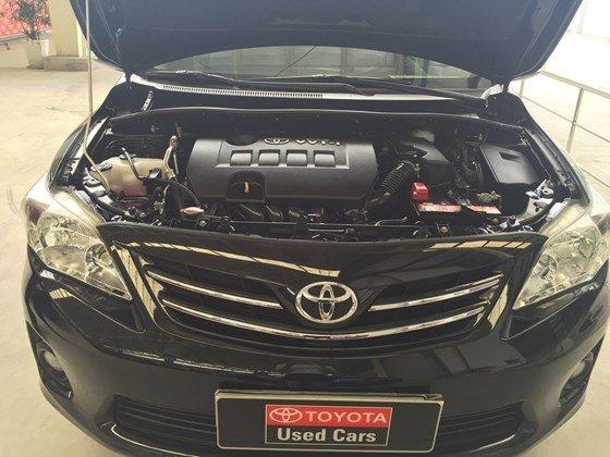 Xe Toyota Corolla Altis đời 2012, màu đen, nhập khẩu chính hãng, số sàn-1