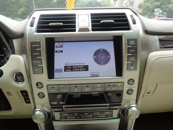 Cần bán lại xe Lexus GX460 đời 2011, màu xám, nhập khẩu chính hãng-8