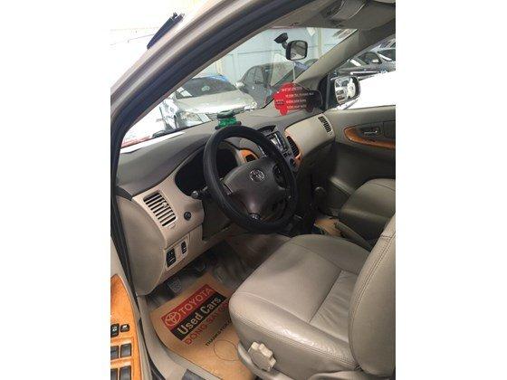 Bán Toyota Innova G 2010, màu nâu, nhập khẩu nguyên chiếc, số sàn, 660tr-4