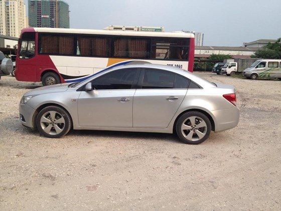 Bán xe Daewoo Lacetti đời 2009, màu bạc, nhập khẩu, giá 398tr-0
