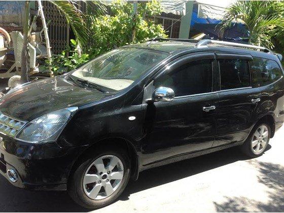 Bán ô tô Nissan Grand livina năm 2011, màu đen, nhập khẩu chính hãng, xe gia đình, 400tr-0