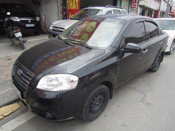 Bán ô tô Daewoo Gentra MT đời 2010, màu đen, xe nhập, còn mới-10