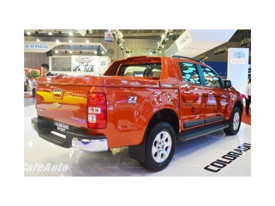 Bán xe Chevrolet Colorado 2.5LT đời 2015, màu đỏ cam, nhập khẩu nguyên chiếc-2