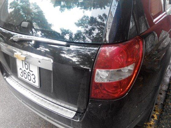 Bán ô tô Chevrolet Captiva đời 2007, màu đen, xe nhập, số sàn, giá chỉ 338 triệu-1