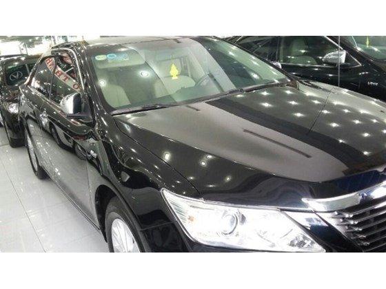 Xe Toyota Camry đời 2012, màu đen, nhập khẩu chính hãng, giá 909tr cần bán-0