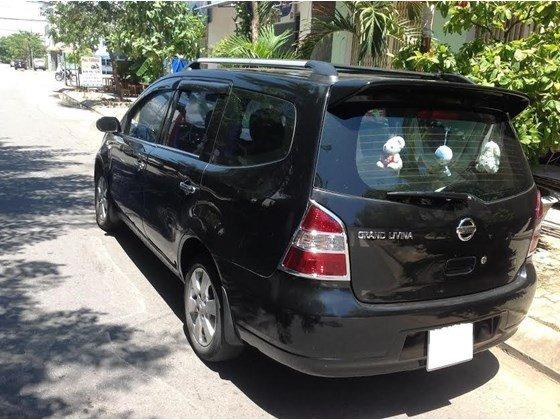 Bán ô tô Nissan Grand livina năm 2011, màu đen, nhập khẩu chính hãng, xe gia đình, 400tr-1