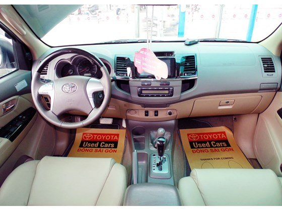 Bán Toyota Fortuner đời 2013, màu trắng, nhanh tay liên hệ-5