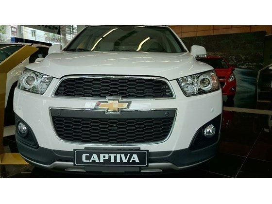 Cần bán xe Chevrolet Captiva LTZ đời 2015, màu trắng, nhập khẩu chính hãng, 949tr-7