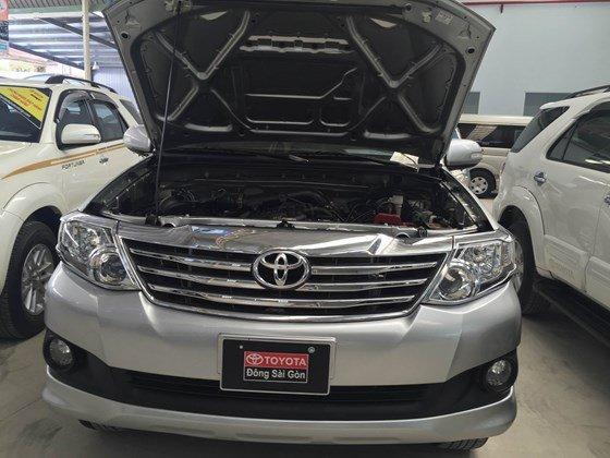 Cần bán gấp xe Toyota Fortuner đời 2012-2
