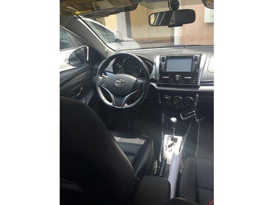 Em bán xe Toyota Vios G 2014 số tự động - mầu vàng cát. Nội thất màu đen-3