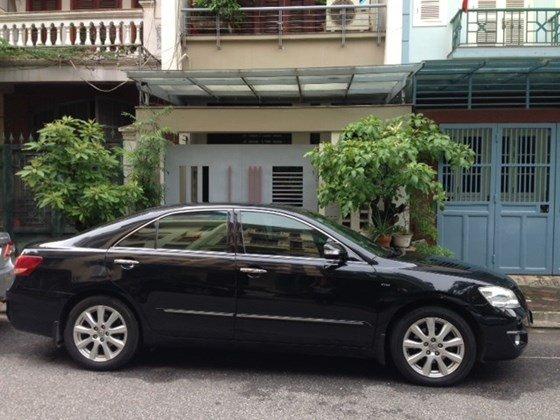 Chính chủ bán ô tô Camry 3.5Q đời 2007 màu đen, nội thất da màu đen-0